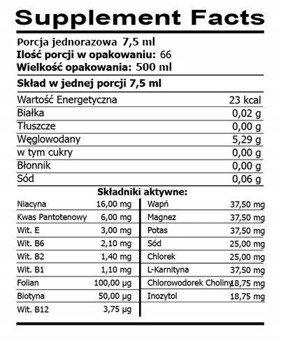 FSN Vitamin Liquid Stack 500 ml
